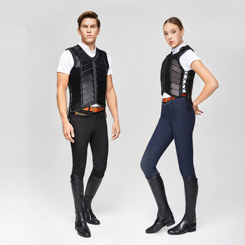 Horse Riding  Vest Adults Kids Equestrian Protective Horse Vest Horse Riding Vest Body Protector Safety Waistcoat Black complete horse riding manual