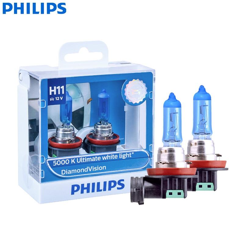 9012 HIR2 Halogen Headlight Bulb with Super White Light fog lights PX22D 12V//55W 5000K 2 Pack,Long Life