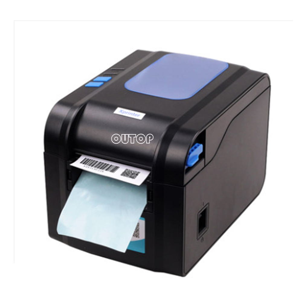 80MM Barcode Label Printer Automatic Stripping