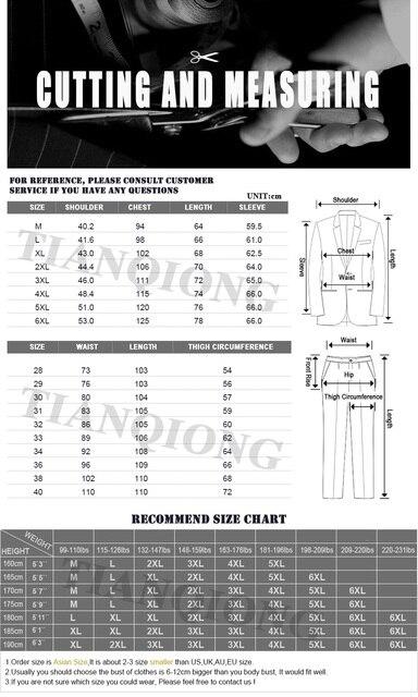 TIAN QIONG Brand Fashion Men 's Slim Fit Business Suit   6