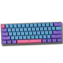 1 комплект ANSI 60% макет механической клавиатуры PBT Матовые чехлы для клавиш с подсветкой для Gh60 RK61 ALT61 ANNE двойной-shot литья ключ крышка