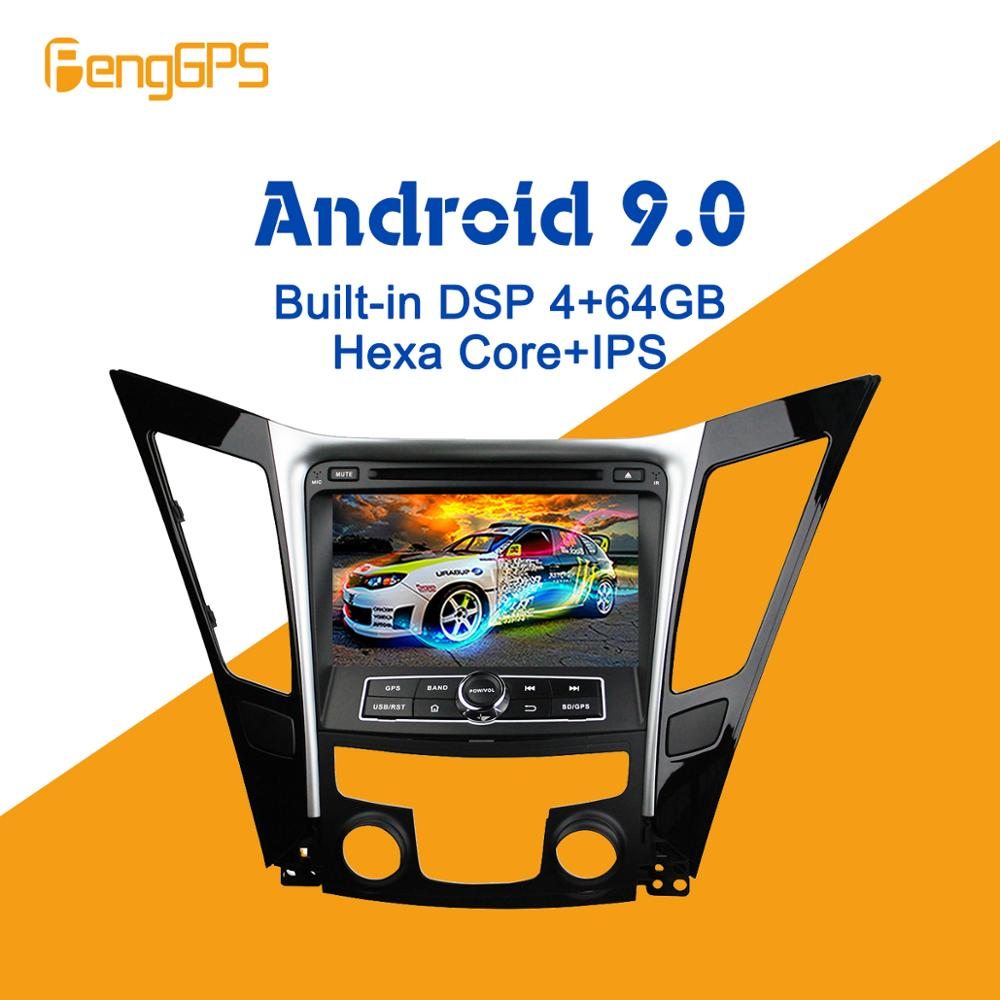Android 9.0 PX6 DSP For <font><b>Hyundai</b></font> Sonata <font><b>i40</b></font> i45 2011-2015 Car Multimedia Stereo Player DVD Radio <font><b>GPS</b></font> Navigation Head unit screen image