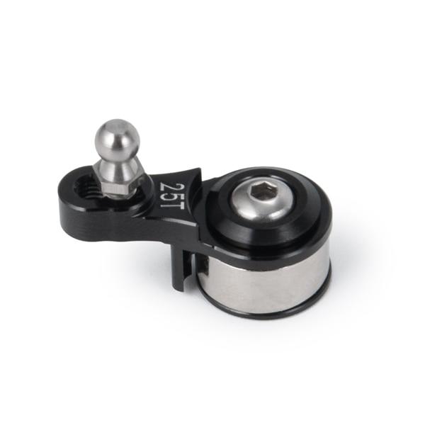 Amortiguador Servo 25T Aluminum Alloy Adjustable Damping Servo Arm For 1/10 RC Models Trx4 Upgrade Parts