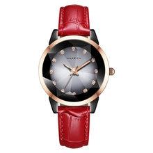 Часы наручные женские кварцевые с керамическим ремешком и кожаным