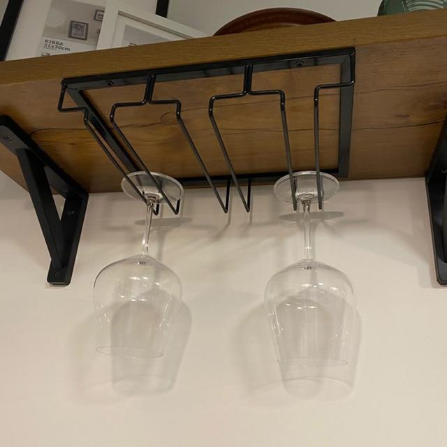 Overhead Hanging Wine Glass Holder 3