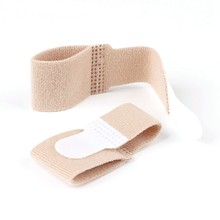 Hot Hot Broken Toe Wrap Fabric Toe Splint Toe Cushion Bandage Finger Protector Straight Hair Hammer Toe Separator 1PCS(China)