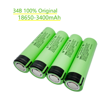 1/2/4/6/8/10pcs 100% New 3400mAh Original NCR18650B 3.7v 3400 mAh 18650 Lithium Rechargeable Battery Flashlight batteries