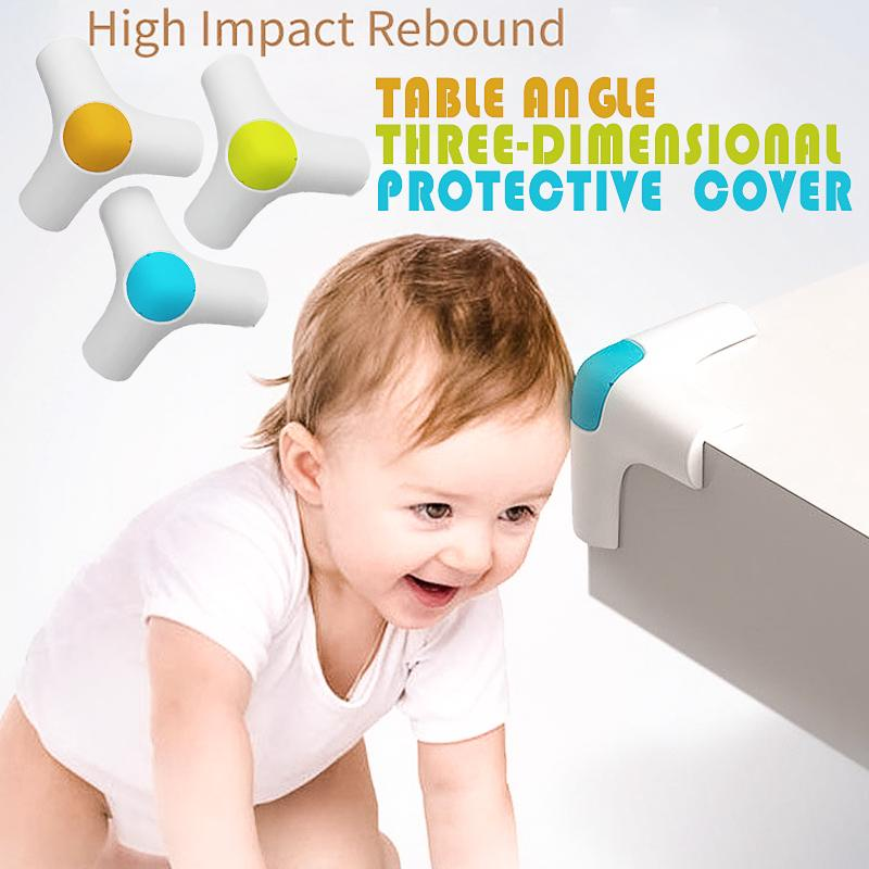 4PC Baby Table Angle Elastic Protective Cover Children Safety Corner Protector Baby Table Corner Anti-Collision Edge Corner