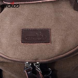 Image 4 - Large Capacity Man Travel Bag Mountaineering Backpack Men Bags Canvas Bucket Shoulder Backpack 012