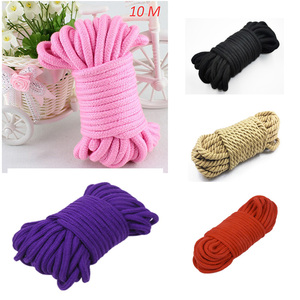 Image 1 - Привязь для связывания шибари, Привязь для связывания веревки, ограничитель для связывания, секс игрушки для взрослых для пар 5 м/10 м, мягкая хлопковая веревка