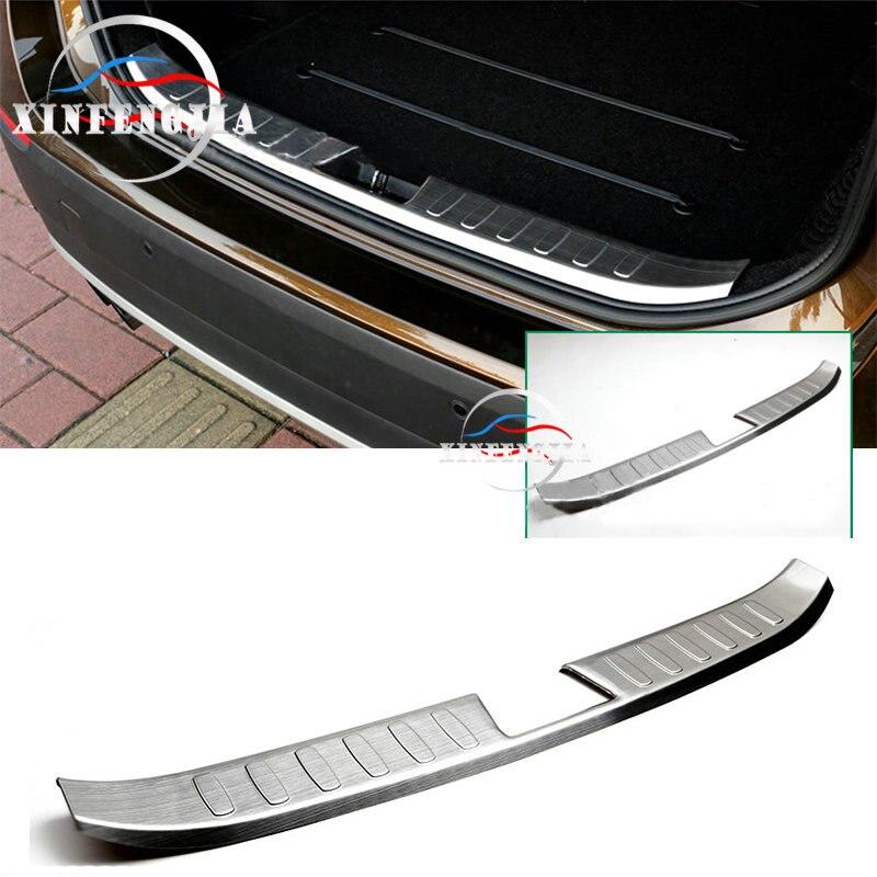 For Benz E-class 2010-2015 Interior Rear Bumper Sill Plate Guard Protector Cover