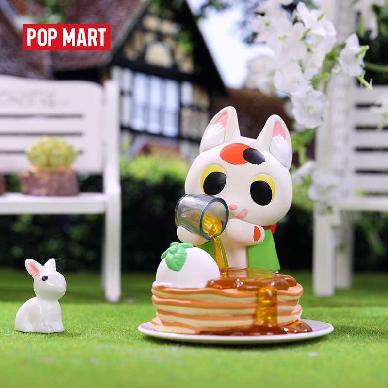 POP MART Konatsu Ling-Können Katze Sweets serie tier Spielzeug figur Action Figure blind box Geburtstag Geschenk Kind Spielzeug freies verschiffen