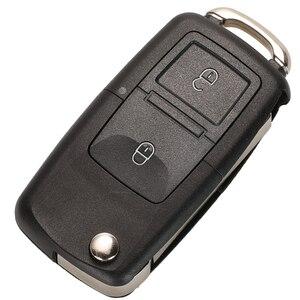 Image 3 - Étui à clé pour Vw Jetta Golf Passat coccinelle Polo Bora MK4 siège Altea Skoda 20 pièces/lot