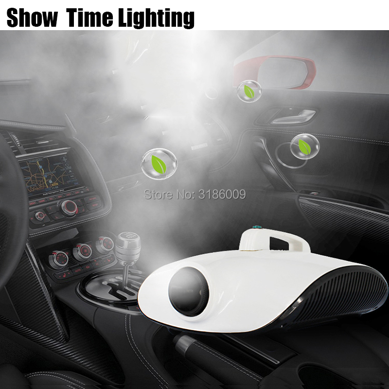 New Arrival Portable Car Atomization Disinfect Machine Remove Peculiar Smell 1500W Fog Machine Good Use For Car Room Office