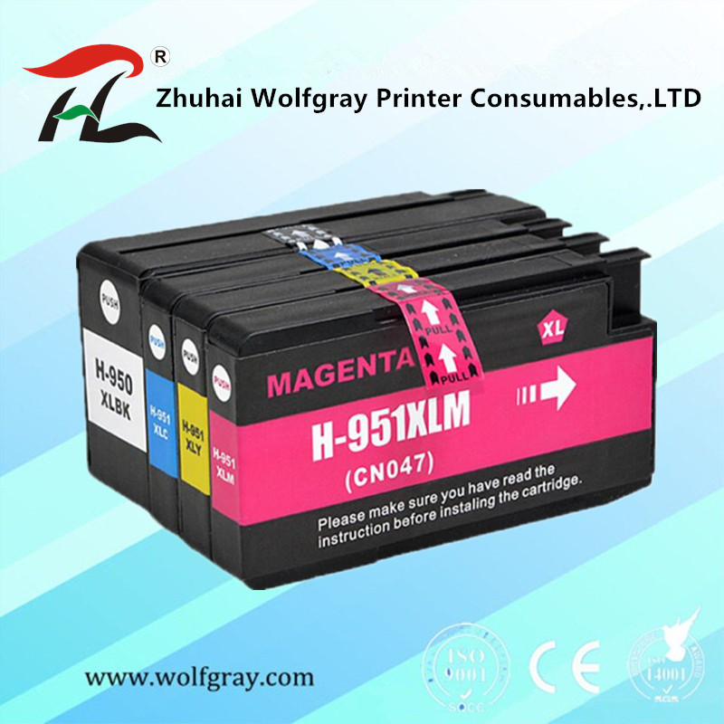 Compatible for <font><b>HP</b></font> 950XL for 951XL For HP950 ink cartridge 950 <font><b>951</b></font> Officejet Pro 8600 8610 8615 8620 8630 8625 8660 8680 Printer image