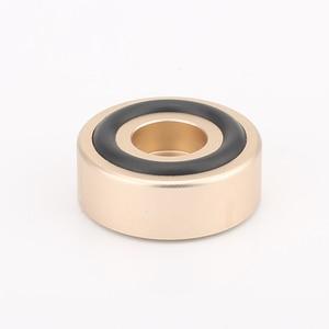 Image 5 - 30mm*12mm Machined Full Aluminum Speaker AMP Isolation Foot Spike Floor Base Pad Stand Cone Damp For Hifi Audio CD Radio DAC