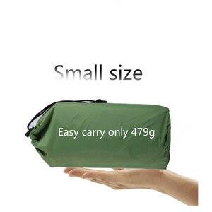 Image 5 - Matelas gonflable de pique nique de matelas dair de tapis de plage avec le coussin de sac de couchage doreiller