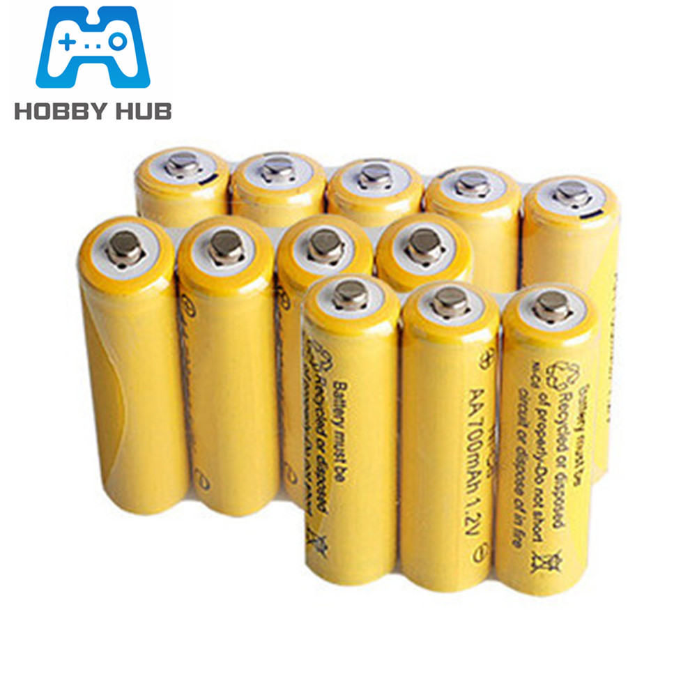 <font><b>1.2v</b></font> <font><b>700mah</b></font> NI-CD <font><b>AA</b></font> <font><b>Battery</b></font> 700 mAh Rechargeable nicd <font><b>Battery</b></font> <font><b>AA</b></font> For Electric Toy remote Control car RC ues image