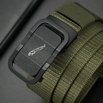 Wojskowa armia płócienny pasek męski kobiety taktyczny wojskowy pas Outdoor Sports pasy pasy Unisex Nylon automatyczne pasy z klamrami tanie i dobre opinie CEXIKA Dla osób dorosłych PŁÓTNO CN (pochodzenie) 3 5cm moda Stałe Military Nylon Belts Army 4 5cm