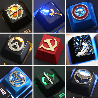 Key-Cap Mechanical-Keyboard Aluminium-Alloy Dota-2 Stereoscopic-Relief 1pc for DNF R4-Height title=