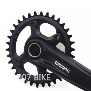 Image 4 - SHIMANO DEORE SLX FC MT610 Crankset M6000 10/11/12 Speed Crankset BB52 32T 34T 170MM 175MM M610 Crankset