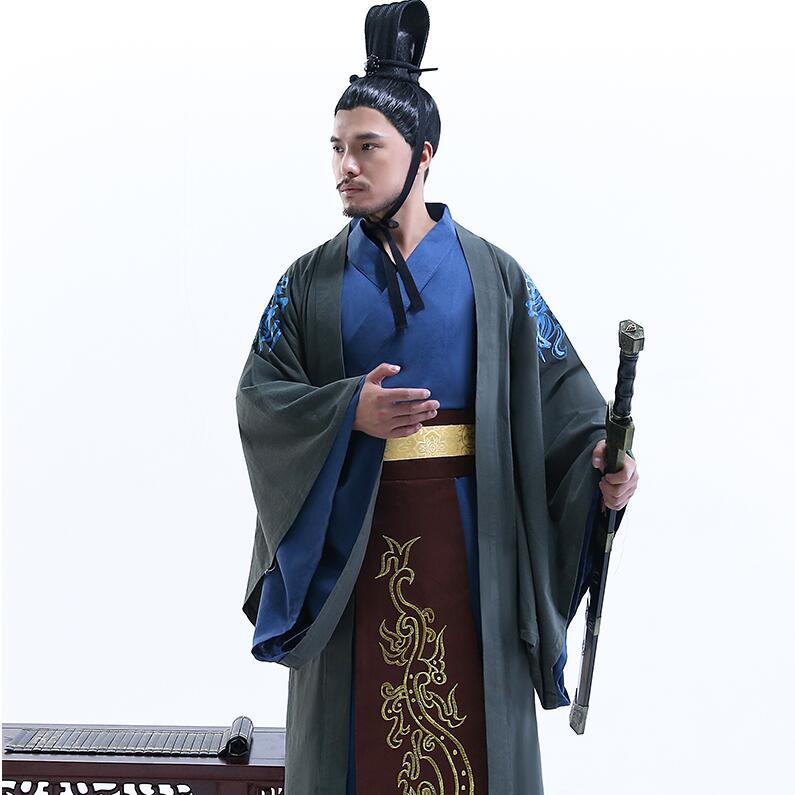 Hanfu du ministre des hommes soumis au Costume photographique des fonctionnaires de la dynastie Tang Han