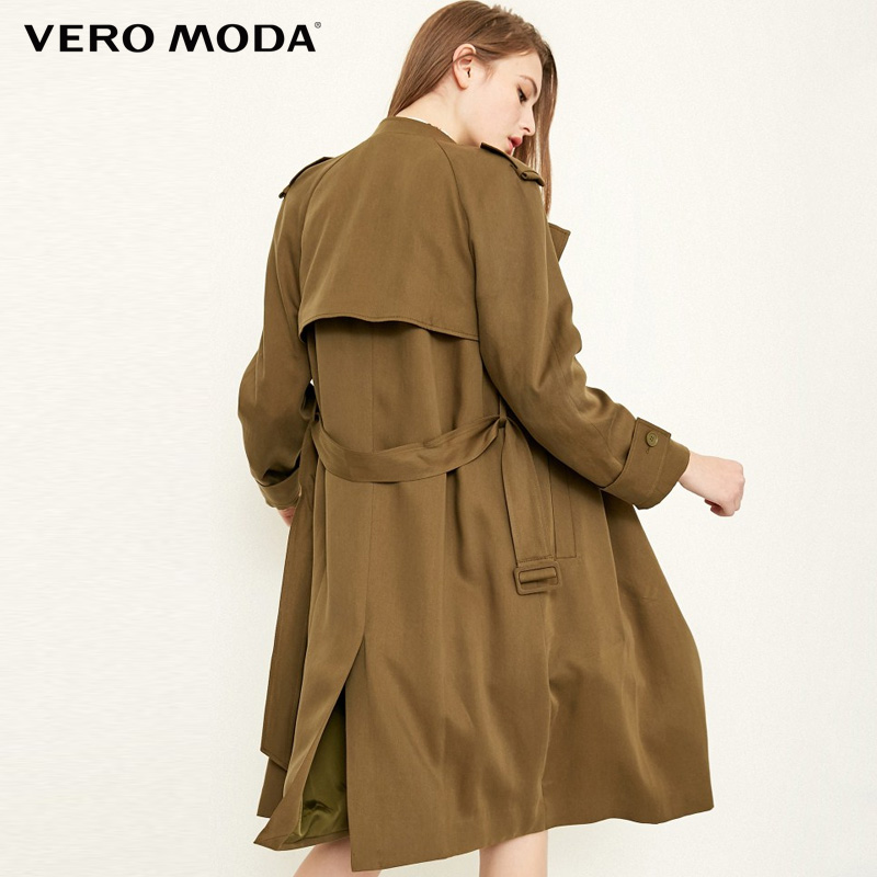 Vero Moda Autumn Chic Trench Long Coat Jacket 318121533 in Trench from Women 39 s Clothing