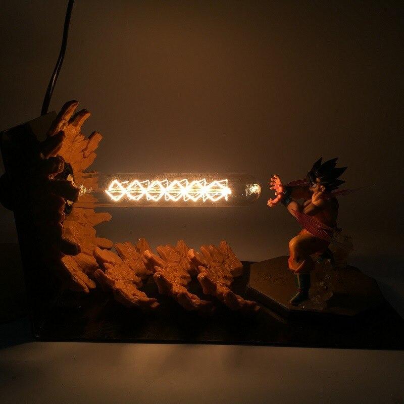 Lámpara LED Dragon Ball Z para niños figura de acción Anime Goku Son figurita coleccionable modelo juguetes navideños para niños que brillan en la oscuridad Aspirador de robot LIECTROUX B6009,3KPa Succión, Mapa de navegación, con Memoria, Aplicación WiFi, Tanque de Agua, Motor sin Escobillas, Bloqueador Virtual