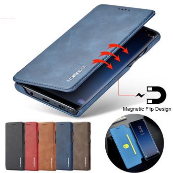 Dla Samsung A21S A31 A41 A51 A71 A11 przypadku klapki magnetyczne etui na telefony na Samsung Galaxy A70 A50 A40 A30 A20 przypadku skórzany portfel torba tanie i dobre opinie LC IMEEKE CN (pochodzenie) Etui z klapką For Samsung A21S A51 A71 A41 Case Zwykły 2021 High Quality PU Leather+ Silicone Soft TPU