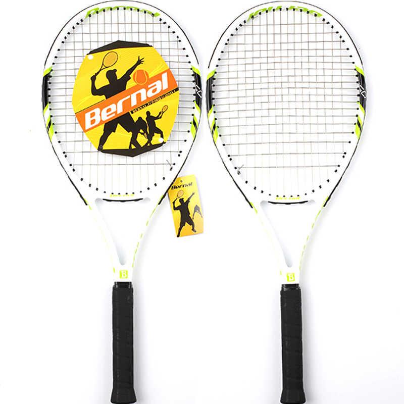 Теннисные ракетки углерода № 2 теннисные ракетки с теннисная сумка Grip Для мужчин Для женщин тренировки новичков туристические падел Raqueta ракетка для тенниса