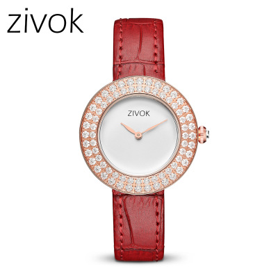Top Brand Luxury Women Watches LIGE Girl Quartz Watch Casual Leather Ladies Dress Clock