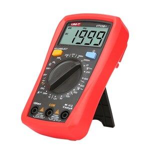 Image 3 - UNI T رقمي متعدد UT33A + السيارات المدى الجهد الحالي المقاومة قياس LCD AC DC + 2mF السعة NCV اختبار الخلفية