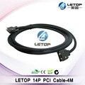 Хорошее качество! 14p LVDS Дата кабель  длина 4 м для Allwin эко сольвентный принтер