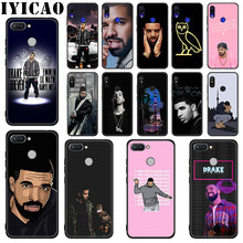 IYICAO Rapper Drake Soft Silicone Case for Xiaomi Redmi Go S2 K20 6 Pro 7 7A 6A 5A 4A 5 Plus 4X