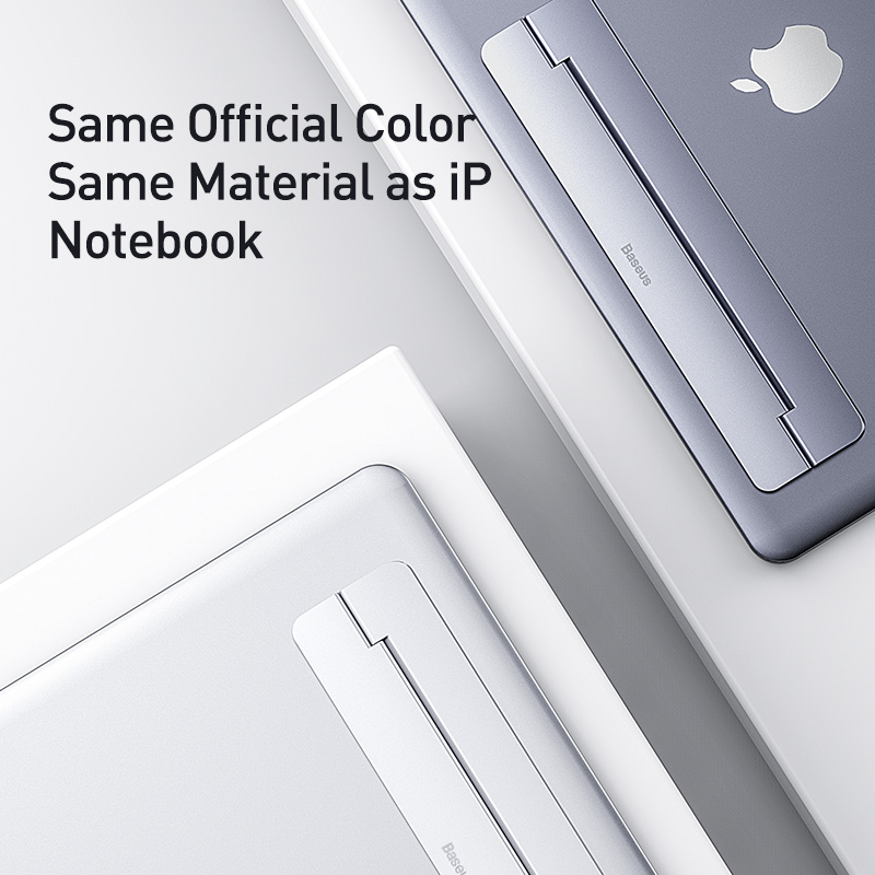 Baseus Portable Laptop Stand Foldable Aluminum Desk Table Notebook Base Laptop Holder Stand for MacBook Air Pro Mac PC Computer