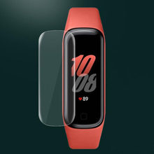 5pcs Soft TPU Clear Smartband Protective Film For Samsung Galaxy Fit 2 SM-R220 Smart Wristband Fit2 R220 Screen Protector Cover