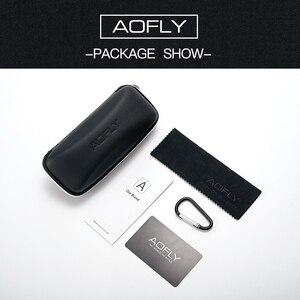 Image 5 - AOFLY 브랜드 디자인 패션 숙녀 고양이 눈 선글라스 여성 편광 선글라스 여성 고유 프레임 그라디언트 렌즈 UV400 A155