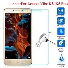 Vidro temperado para lenovo vibe k5 a6020 a6020a40 a6020a41 película protetora para lenovo k 5 plus a6020a46 a6020l36 protetor de tela