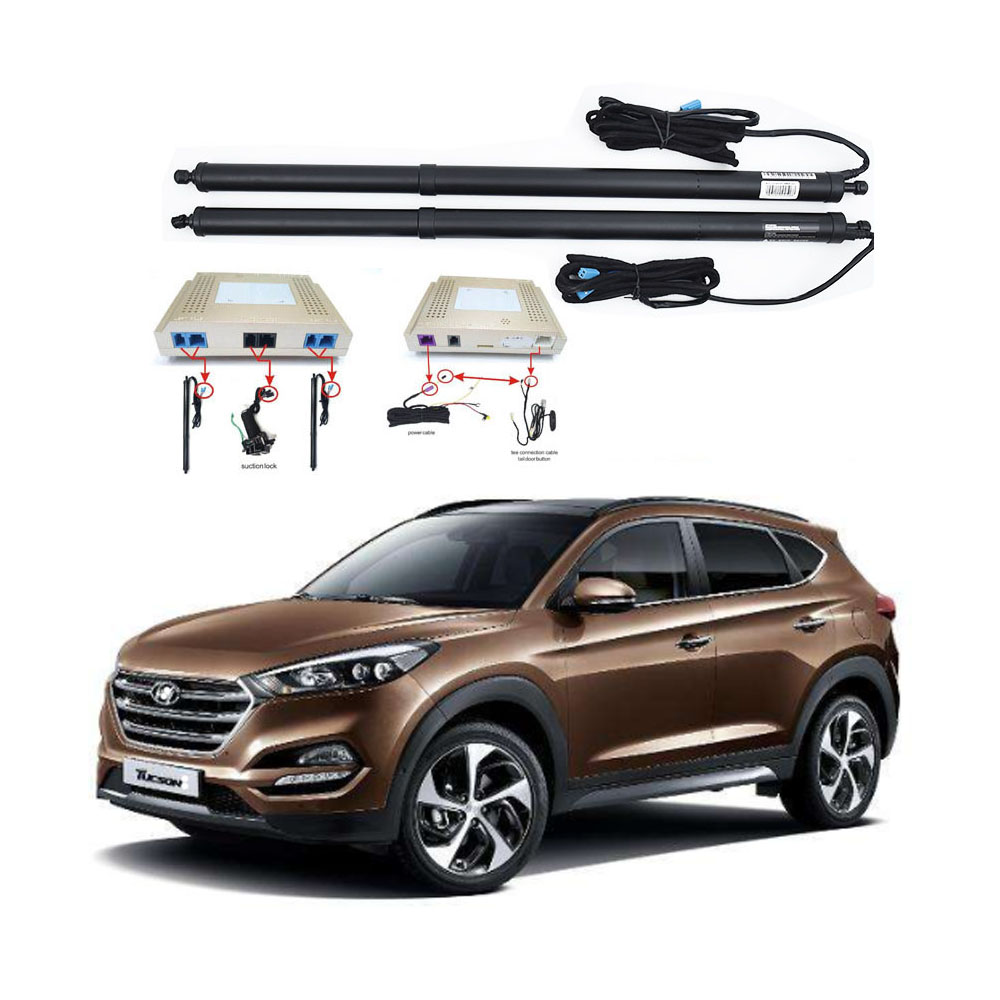 New Electric Tailgate Refitted For Hyundai TUCSON 2016 -2020 Tail Box Intelligent Electric Tail Door Power Tailgate Lift Lock