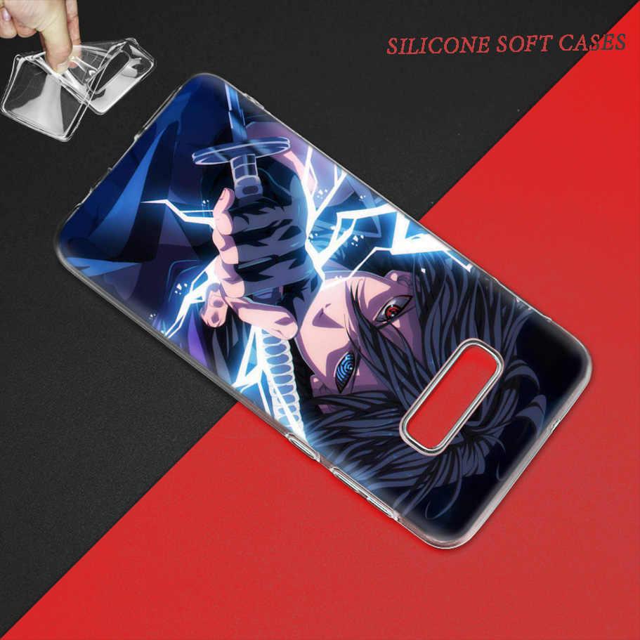 Anime Naruto Qimukakasi Case for Samsung Galaxy S10 5G S10e S9 S8 Plus S7 Nota 10 8 9 J4 J6 2018 M30s M10s TPU Telefone Coque Sacos