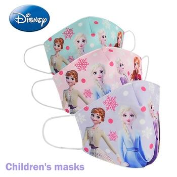 Frozen Elsa Kids Mask Cotton Daily Protection Pm2.5 Anti-haze Dust-proof Washable Cartoon Boys Girls Disney Children Masks