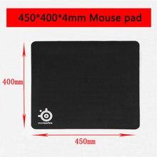 OEM SteelSeriesยางโน้ตบุ๊คGaming Mouse Padคอมพิวเตอร์MousepadสีดำGamerแป้นพิมพ์แล็ปท็อปแผ่นไม่มีกล่อง