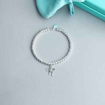 Bowknot pulsera silver925 alta calidad Venta caliente de la joyería de la pulsera
