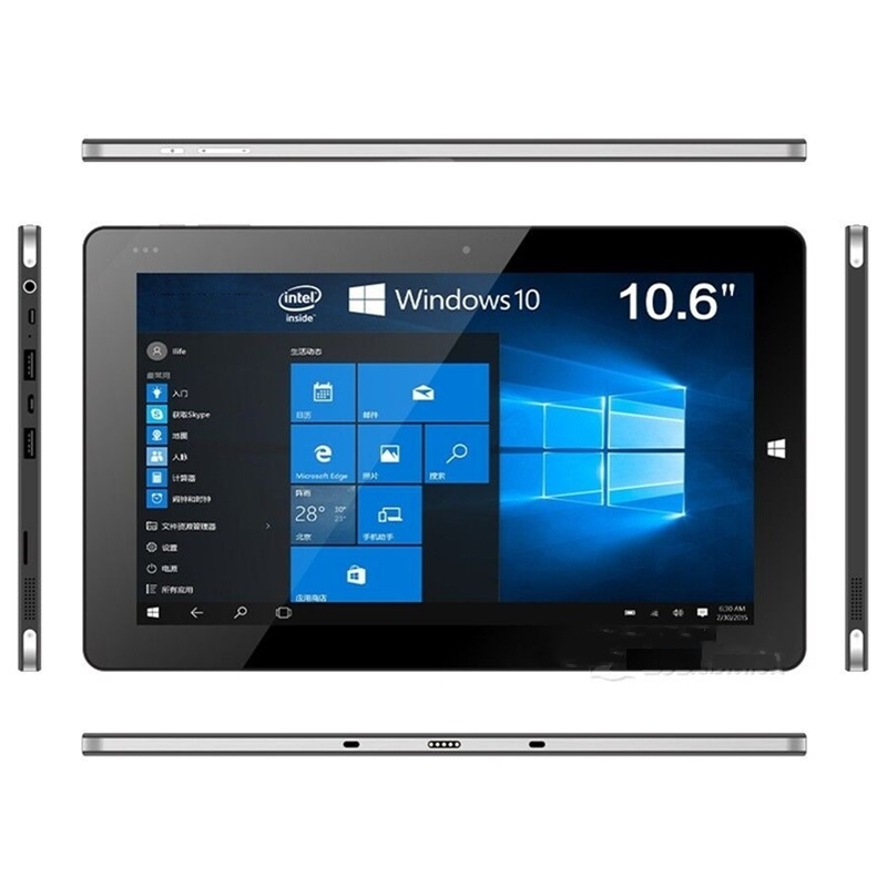 10.6 Inch Vi10 Tablet  PC Android4.4+Windows 8.1(Dual System)/windows 10 1366*768 IPS 2+32GB HDMI Wifi 32-bit Operating System