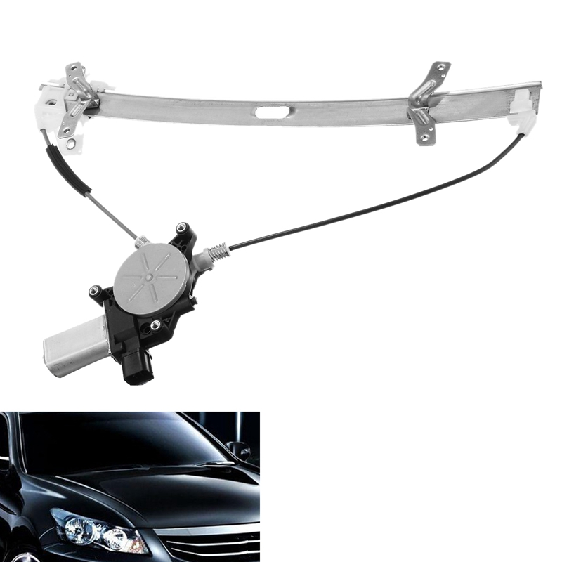 Front Right Power Window Regulator With Motor For Honda Accord Coupe W/ Motor 2003-2007 72210-SDG-H01 741-307 741-306