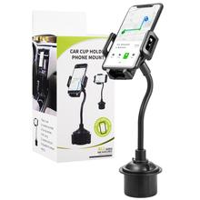 Cell Phone Holder Universal Adjustable Gooseneck Cup Cradle Car Mount for iPhone Xs/SX Max/X/8/7 Plus/Galaxy S8