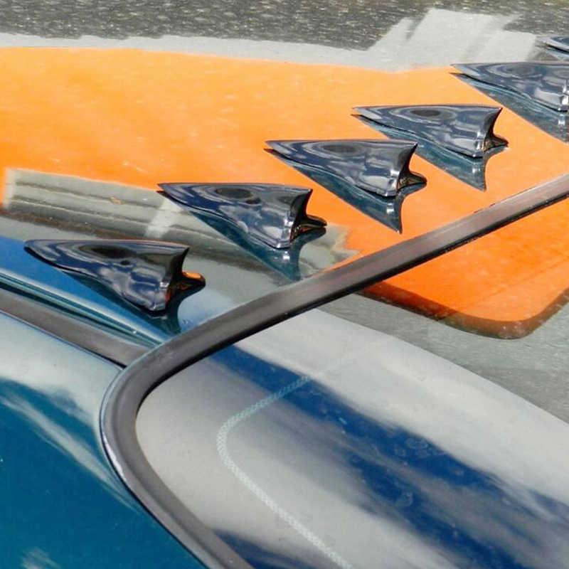 ユニバーサル Pu サメフィンスポイラーふかひディフューザー渦発生車ルーフスポイラーバンパー翼トランクキット