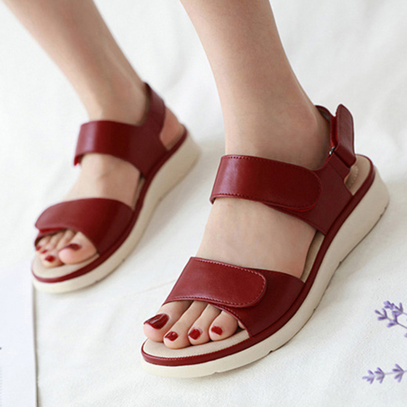2020 Summer Shoes Women Sandals Holiday Beach Wedges Sandals Women Slippers Soft Comfortable Ladies Summer Slippers A2121 1