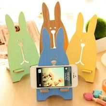 Portable Cute Wood Phone Holders Mobile Phone Cellphone Holder Desktop Storage Holders Mount Stand Storage Rack цена