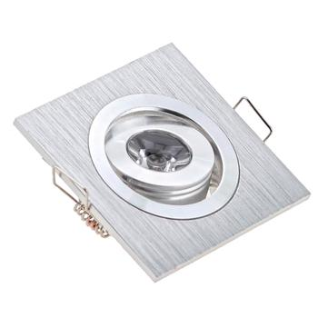 Free Shipping Mini Square 3W LED Recessed Ceiling Sopt Lights AC/DC12V LED Downlights for living room Cabinet Bedroom